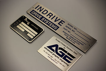 stainless steel corporate identity tags